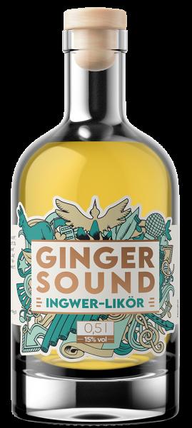 Ginger Sound – mit 15% vol. Alkohol (0,5l)