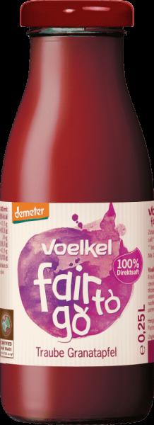 fair to go - Traube Granatapfel (0,25l)