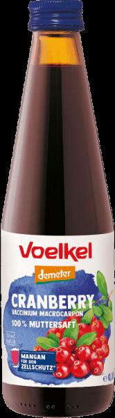 Cranberry 100 % Muttersaft (0,33l)