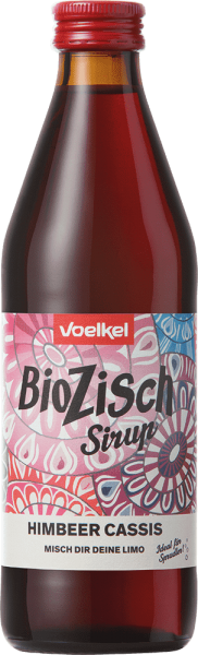 BioZisch Sirup Himbeer Cassis (0,33l)