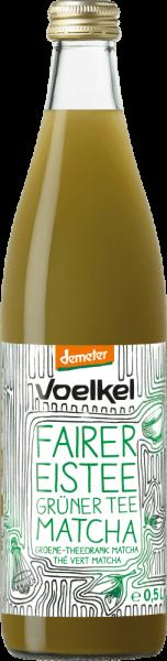 fairer Eistee Grüner Tee Matcha, demeter (0,5l)