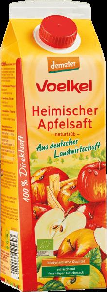 Heimischer Apfelsaft naturtrüb (1l)