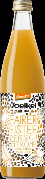 Fairer Eistee Pfirsich Zitrone (0,5l)